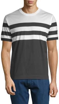 Zegna Men's Striped T-Shirt