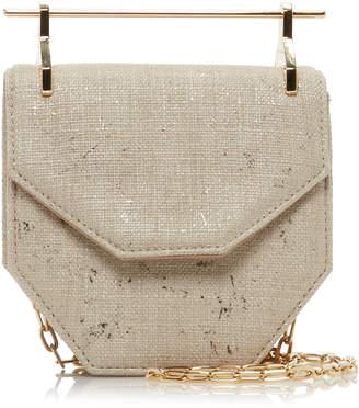 M2Malletier Amor Fati Canvas Mini Bag