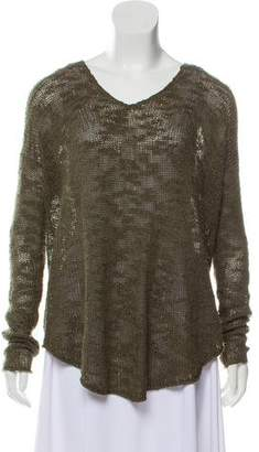 Helmut Lang Long Sleeve Knit Sweater