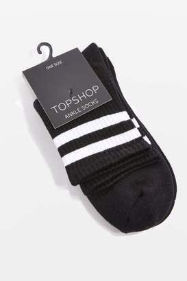 Topshop Sporty Tube Ankle Socks
