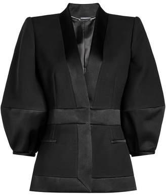 Alexander McQueen Blazer in Wool and Silk