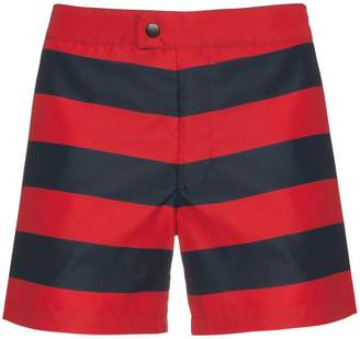 Jil Sander striped swim shorts