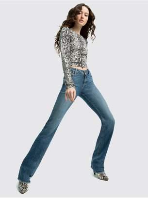 Alice + Olivia Fabulous Low Rise Boot Cut Jean