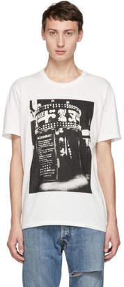 Wacko Maria White Daido Moriyama Edition Modern Art T-Shirt