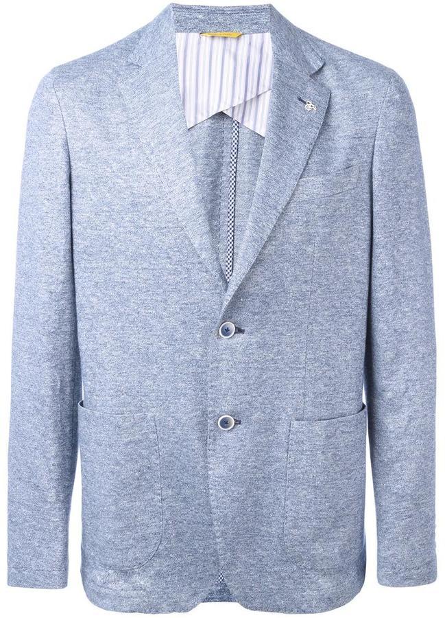 CanaliCanali patch pocket blazer