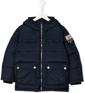 DSQUARED2 padded pocket coat