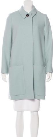 Chloé Chloé Wool Knee-Length Coat w/ Tags