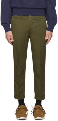 Visvim Green High Water Chinos