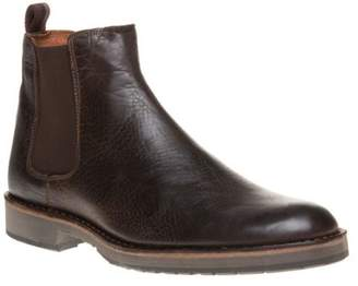 Sole New Mens Brown Edwin Leather Boots Chelsea Elasticated Pull On