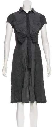 Max Mara Weekend Short Sleeve Midi Shirt Dress