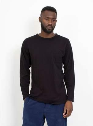 Saturdays NYC James L/S Pima T-Shirt