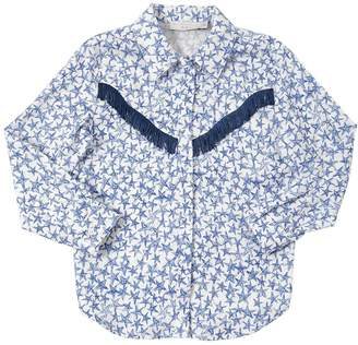 Stella McCartney Stars Printed Viscose Shirt