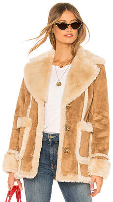 Mother The Faux Fur Patch Pocket Trapper