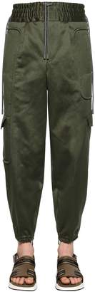 Ermenegildo Zegna Couture Cotton & Linen Cargo Pants