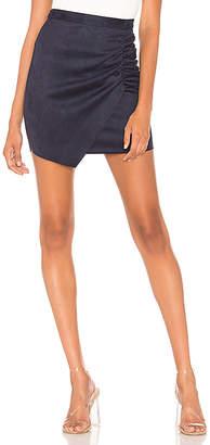 BCBGeneration Shirred Wrap Skirt