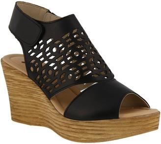 Spring Step Leather Slingback Sandals - Rokshana