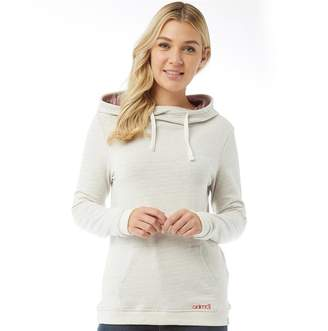Animal Womens Tahitian Swirl Too Hoody Vanilla Cream Marl