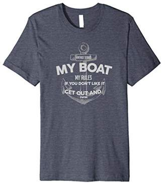 Funny Boating Shirt for Sea Captains and Fisherman