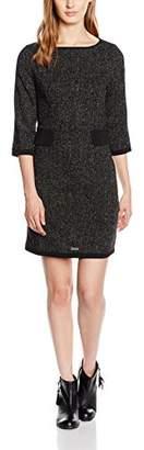 Molly Bracken Women's P391A16 Bodycon 3/4 Sleeve Party Dress - Black