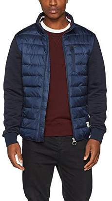Tom Tailor Men's Stand up Collar Light Puffer Jacket,Small