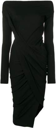 Vivienne Westwood boat neck fitted dress