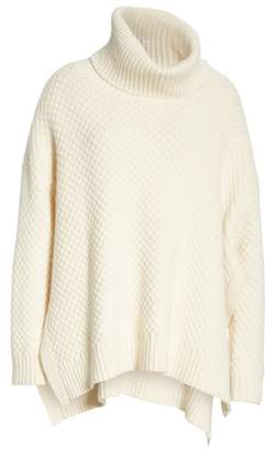 ADAM by Adam Lippes Wool & Cashmere Tunic Sweater