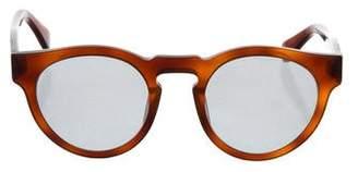 Westward Leaning Westward\\Leaning Tortoiseshell Mirrored Sunglasses