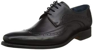 Barker Men''s Pitt Derbys, (Black Calf), 43 EU