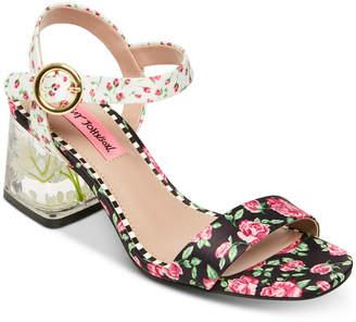 6cd445d0987e Betsey Johnson Livvie Block-Heel Sandals Women Shoes