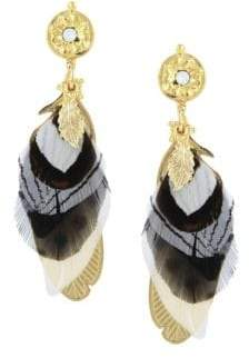 Swarovski Gas Bijoux Sao Crystal Drop Earrings