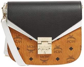MCM Leather Visetos Patricia Shoulder Bag