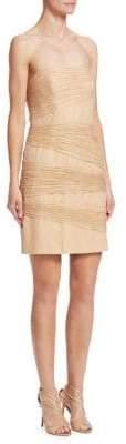Halston Layered Sheath Dress