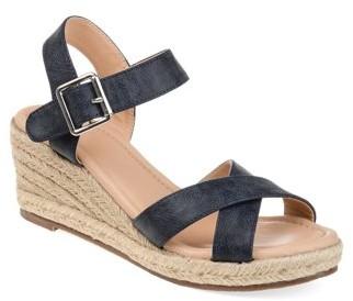 5785cb73489 Womens Comfort Espadrille Sandal Wedge