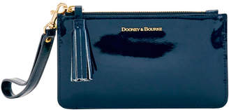 Dooney & Bourke Patent Leather Small Carrington Wristlet