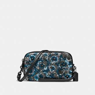 Coach Sadie Crossbody Clutch With Sequins