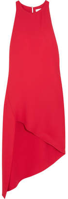 IRO Hamlin Asymmetric Crepe Dress - Red