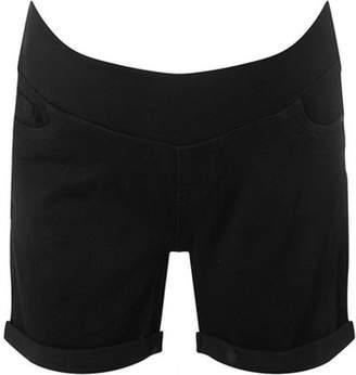 Dorothy Perkins Womens **Maternity Black Under Bump Shorts