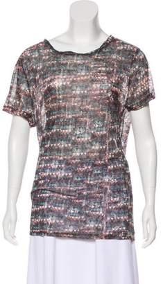 Etoile Isabel Marant Printed Short Sleeve T-Shirt