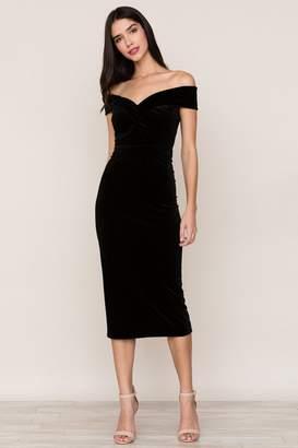 Yumi Kim Catwalk Velvet Dress