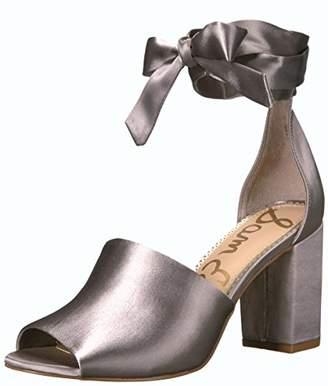 0ad2a3fec Sam Edelman Gray Suede Women s Sandals - ShopStyle