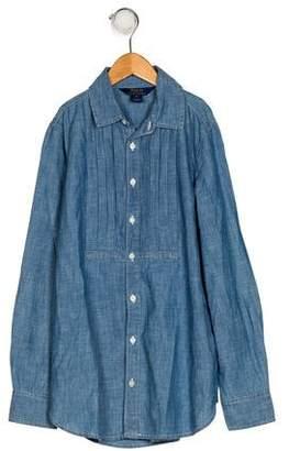 Polo Ralph Lauren Girls' Long Sleeve Button-Up Top w/ Tags