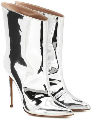 acb5a7cd8cb90 Alexandre Vauthier Alex Low metallic ankle boots