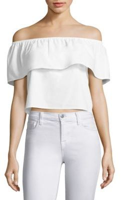 Splendid Off-the-Shoulder Top $98 thestylecure.com
