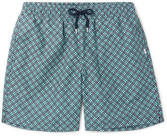 Derek Rose Tropez 4 Mid-Length Printed Swim Shorts