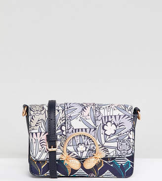 Accessorize tiger print cross body bag