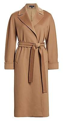 St. John Women's Wool Trench Coat