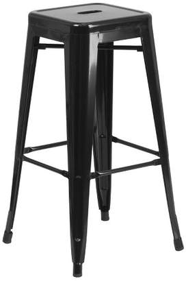 Riverstone Furniture Backless Metal Barstool - Riverstone Furniture Collection