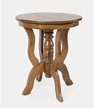 World Menagerie Manila Round End Table World Menagerie