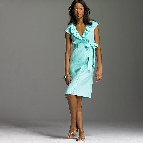 Portico wrap dress