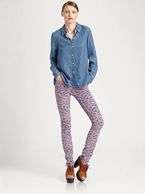 Marc by Marc Jacobs Ayler Denim Shirt